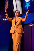 Denver, Colorado<br /> August 26, 2008<br /> <br /> Senator Hillary Clinton speaks at the Pepsi Center  - Democratic National Convention.