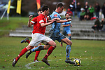 NELSON, NEW ZEALAND - JULY 14: SFL - Nelson Suburbs v Nomads United. Saxton Field 14 July 2019 in Nelson, New Zealand. (Photo by Chris Symes/Shuttersport Limited)