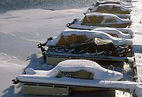 - Norway, boats moored in the port of Narvik ....- Norvegia, barche ormeggiate nel porto di Narvik..