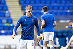 St Johnstone v Dundee United…22.08.21  McDiarmid Park    SPFL<br />Hayden Muller pictured during the warm-up<br />Picture by Graeme Hart.<br />Copyright Perthshire Picture Agency<br />Tel: 01738 623350  Mobile: 07990 594431