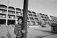 """- Lioni (Irpinia), condominium """"Bergamo"""", built after the 1980 earthquake with Bergamo municipality bids....- Lioni (Irpinia), condominio """"Bergamo"""", costruito dopo il terremoto del 1980 con le offerte del comune di Bergamo"""