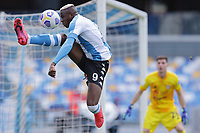 Victor Osimhen of SSC Napoli in action during the Serie A football match between SSC Napoli and Cagliari Calcio at Diego Armando Maradona stadium in Napoli (Italy), May 02nd, 2021. <br /> Photo Cesare Purini / Insidefoto