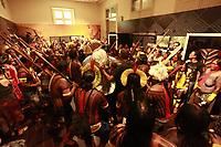 Mebêngôkre-Kayapó<br /><br />Kayapós se apresentam no Museu Emilio Goeldi em Belém, durante abertura do  XVI Congresso da Sociedade Internacional de Etnobiologia.<br />Belem, Pará, Brasil.<br />Foto Paulo Santos