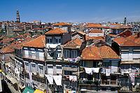 Portugal, Wohnhäuser in Porto
