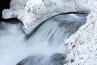 Spring melt above Dream Lake, Rocky Mountain National Park