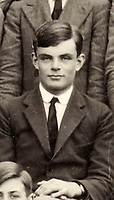 BNPS.co.uk (01202) 558833<br /> Pic: Bonhams/BNPS<br /> <br /> Pictured: Alan Turing: This School photograph depicting the boys of Westcott House, Sherborne School, 1930, is being sold with Victor Beuttell letter <br /> <br /> A fascinating letter by a young Alan Turing analysing the probabilities of 'breaking the bank' in Monte Carlo has sold for almost £100,000.<br /> <br /> Almost a decade before he cracked the Enigma code, the genius mathematician used a myriad of equations to assess the chances of winning at roulette.<br /> <br /> He was prompted to do so after the father of a close school friend revealed to him his successful gambling past.