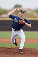 Seattle Mariners starting pitcher Darren McCaughan (68) during a Minor League Spring Training game against the San Diego Padres at Peoria Sports Complex on March 24, 2018 in Peoria, Arizona. (Zachary Lucy/Four Seam Images)