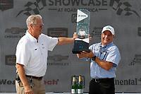IMSA WeatherTech SportsCar Championship<br /> Continental Tire Road Race Showcase<br /> Road America, Elkhart Lake, WI USA<br /> Sunday 6 August 2017<br /> Dekra Green Challenge award<br /> World Copyright: Michael L. Levitt<br /> LAT Images