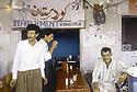 Irak 1991  Une buvette a Diana  Iraq 1991  A refreshment bar in Diana