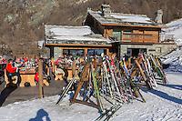Italie, Val d'Aoste, Valtournenche: Restaurant: Foyer des Guides, Laviel/Pessey // Italy, Aosta Valley, Valtournenche