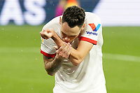 Sevilla FC' Lucas Ocampos celebrates goal during La Liga match. February 6,2021. (ALTERPHOTOS/Acero)<br /> Liga Spagna 2020/2021 <br /> Sevilla FC Vs Getafe <br /> Photo Acero/Alterphotos / Insidefoto <br /> ITALY ONLY