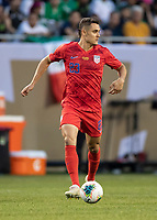 CHICAGO, IL - JULY 7: Aaron Long #23 during a game between Mexico and USMNT at Soldiers Field on July 7, 2019 in Chicago, Illinois.