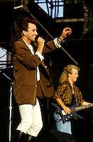 File photo  - Eye Eye  singer Bill Wood at MILLER Music Fest, August 26,1986.<br /> <br /> Photo : <br /> Agence Quebec Presse - Pierre Roussel