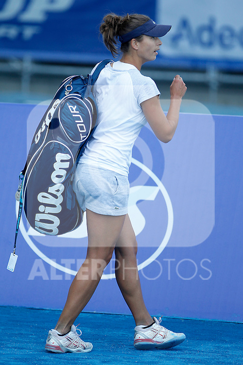 Yanina Wickmayer during Madrid Open Tennis 2012 Match.May, 9, 2012(ALTERPHOTOS/ALFAQUI/Acero)