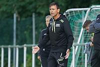 Trainer Ned Kostro (Königstädten) -  Königstädten 19.09.2021: Alemannia Königstädten vs. SG Trebur-Astheim