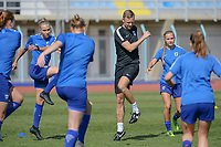 20190306 - PARALIMNI , CYPRUS : South African  pictured during a women's soccer game between Finland and South Africa , on Wednesday 6 March 2019 at the Tassos Markou Stadium in Paralimni , Cyprus.  This last game for both teams which decides for places 9 and 10 of the Cyprus Womens Cup 2019 , a prestigious women soccer tournament as a preparation on the Uefa Women's Euro 2021 qualification duels.PHOTO SPORTPIX.BE | STIJN AUDOOREN