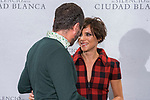 Alex Brendmühl and Aura Garrido attend the photocall of presentation of film 'El Silencio de la Ciudad Blanca' in Madrid. October 23, 2019 (Alterphotos/ Francis Gonzalez)