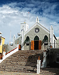 St. Peter's church in St. George, Bermuda