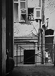 Back streets Marseille France 1966
