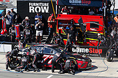 Monster Energy NASCAR Cup Series<br /> AXALTA presents the Pocono 400<br /> Pocono Raceway, Long Pond, PA USA<br /> Sunday 11 June 2017<br /> Erik Jones, Furniture Row Racing, GameStop/Cars 3: Driven to Win Toyota Camry pit stop<br /> World Copyright: Russell LaBounty<br /> LAT Images<br /> ref: Digital Image 17POC1rl_04808
