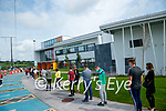 The walk on vaccinations underway at the Tralee vaccination centre at the Sports Academy at the MTU tralee.