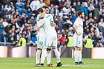 Real Madrid Marcelo Nacho Fernandez during La Liga match between Real Madrid and R. C. Deportivo at Santiago Bernabeu Stadium in Madrid, Spain. January 18, 2018. (ALTERPHOTOS/Borja B.Hojas)
