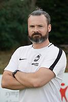 Co-Trainer Stefan Freiherr von Martinez (RW Walldorf) - Mörfelden-Walldorf 04.08.2020: Mannschaftsvorstellung von Hessenligist Rot-Weiss Walldorf für die Saison 2020/21