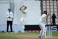 Tim Southee of New Zealand in action during India vs New Zealand, ICC World Test Championship Final Cricket at The Hampshire Bowl on 19th June 2021