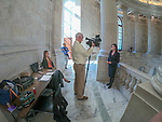 Interview Area On Second Floor Of US Senate Gallery