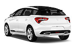 Car pictures of rear three quarter view of 2016 Citroen DS5 Sport Chic 5 Door Hatchback Angular Rear