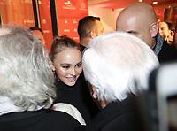 Lilly Rose rencontre Marcel Campion au cafe Butik Flora Danica a Paris 23/11/2017