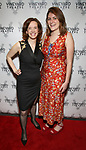 """Margot Bordelon and Mara Nelson-Greenberg attending the Opening Night Afterparty for The Vineyard Theatre production of  """"Do You Feel Anger?"""" at the Vineyard Theatre on April 2, 2019 in New York City."""