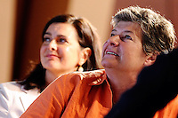Laura Boldrini, Susanna Camusso<br /> Milano 15/07/2013 - Camera del Lavoro <br /> convegno 'La violenza sulle donne è un emergenza' <br /> foto Daniele Buffa/Image/Insidefoto