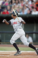 August 11, 2009: Christobal Rodriquez of the Billings Mustangs.The Mustangs are the Pioneer League affiliate for the Cincinnati Reds. Photo by: Chris Proctor/Four Seam Images