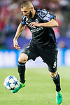 Karim Benzema of Real Madrid in action during their 2016-17 UEFA Champions League Semifinals 2nd leg match between Atletico de Madrid and Real Madrid at the Estadio Vicente Calderon on 10 May 2017 in Madrid, Spain. Photo by Diego Gonzalez Souto / Power Sport Images