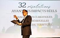 Benoit Charette,  ministre de l'Environnement et de la Lutte contre les changements climatique<br /> <br />  Premier jour du conseil general de la Coalition Avenir Quebec<br /> , le 25 mai 2019.<br /> <br /> PHOTO :  Agence Quebec Presse