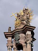 Dreifaltigkeitssäule - sv.Trojica - Morovy stlp auf Dreifaltigkeitsplatz nam.-sv. Trojice in Banska Stiavnica, Banskobystricky kraj, Slowakei, Europa<br /> Holy trinity column in Banska Stavnica, Banskobystricky kraj, Slovakia, Europe