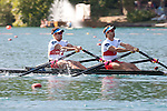 Rowing, Canada Lightweight Men's Double Sculls, Cam Sylvester (Caledon, ON) Western RC, Doug Vandor (Dewittville, ON) McGill University RC, 2011 FISA World Rowing Championships, Lake Bled, Bled, Slovenia, Europe, Rowing Canada Aviron, .