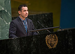 General Assembly Seventy-second session, 28th plenary meeting<br /> Report of the Secretary-General on the work of the Organization (A/72/1)<br /> <br /> SYRIA