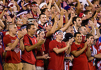 USA Fans. The USMNT tied Mexico, 1-1, during their game at Lincoln Financial Field in Philadelphia, PA.