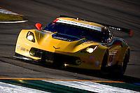#3 Corvette, Jan Magnussen, Antonio Garcia, Ryan Briscoe, Petit Le Mans , Road Atlanta, Braselton, GA, October 2014.   (Photo by Brian Cleary/www.bcpix.com)
