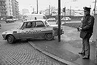 - Milan, Police checkpoint at east perifery during the kidnapping of Aldo Moro (1978)<br /> <br /> - Milano, posto di blocco della Polizia alla periferia est durante il sequestro di Aldo Moro (1978)