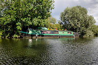 The River Great Ouse between Houghton and Brampton, Cambridgeshire, UK on August 11th 2020<br /> <br /> Photo by Stuart Hogben