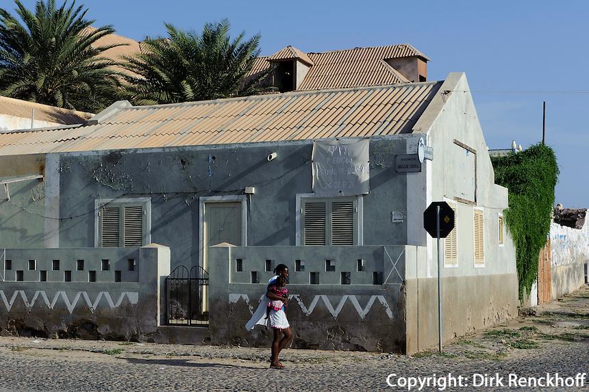 in Sal Rei, Boa Vista, Kapverden, Afrika