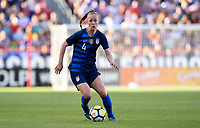 Sandy, Utah - Thursday June 07, 2018: Becky Sauerbrunn during an international friendly match between the women's national teams of the United States (USA) and China PR (CHN) at Rio Tinto Stadium.