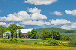 Farmland in Peacham, VT, USA
