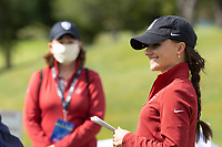 STANFORD, CA - APRIL 24: Aline Krauter at Stanford Golf Course on April 24, 2021 in Stanford, California.