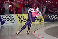 SCHAATSEN: Ids Postma EK Thialf 1998, ©foto Martin de Jong