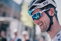 Wout Poels (NED/SKY) post-race<br /> <br /> 82nd Flèche Wallonne 2018 (1.UWT)<br /> 1 Day Race: Seraing - Huy (198km)