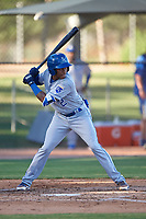 AZL Royals Herard Gonzalez (2) at bat during an Arizona League game against the AZL White Sox at Camelback Ranch on June 19, 2019 in Glendale, Arizona. AZL White Sox defeated AZL Royals 4-2. (Zachary Lucy/Four Seam Images)